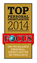 "FOCUS ""Top-Personaldienstleister 2014"""